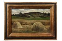 haystacks by scott leighton