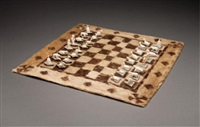 chess set by nicodemus (koosherak) qusugaat