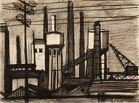 industrial landscape by ampelio tettamanti