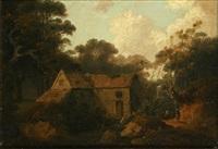 ash (or ask) mill, borrowdale, cumberland by john rathbone