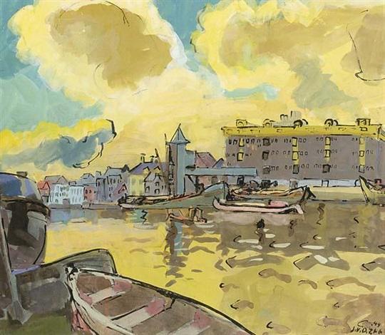 oosterhaven groningen by jan van der zee