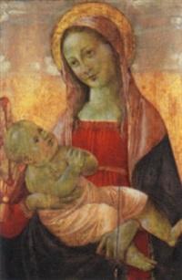madonna con bambino by master of san miniato