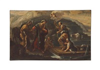 the flight into egypt by luca giordano