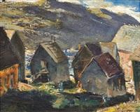 houses monhegan by andrew winter