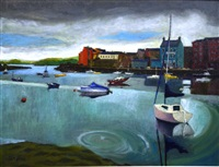 port d'irlande, dungarran, waterford country by jean pesce