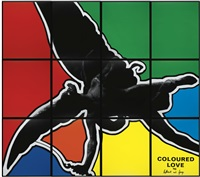 coloured love (in 12 parts) by gilbert and george