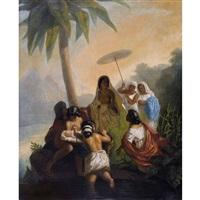auffindung mose (wylowienie mojzesza z nilu) by henryk siemiradzki
