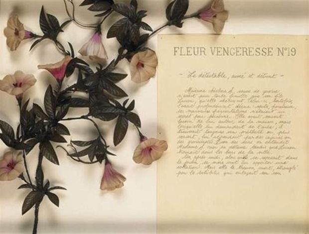 fleurs vengeresses n° 19 by martine aballéa