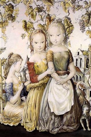 deux soeurs by léonard tsuguharu foujita