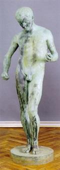 stående ung mand by viggo jarl