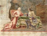 a chess game by raniero aureli