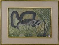 serpent et oiseaux by mulongoy pili pili