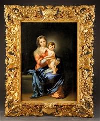 vierge à l'enfant by bartolomé esteban murillo