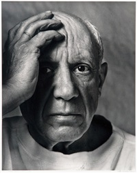 pablo picasso, vallauris by arnold newman