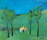 cavallini nel paesaggio by gianrodolfo d'accardi