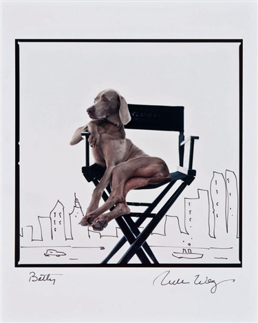 betty by william wegman