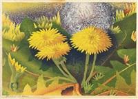 dandelions by luigi rist