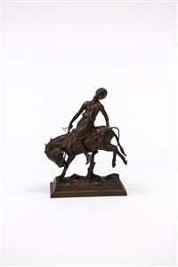 åsneridaren. skulptur by paul aichele