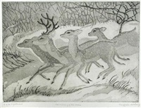 the running of the deer by cecil leslie