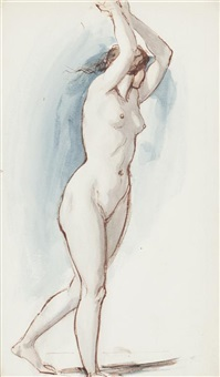 a nymph by william edward frost