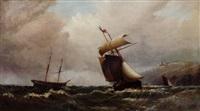 heavy seas off the coast by j.r. scott