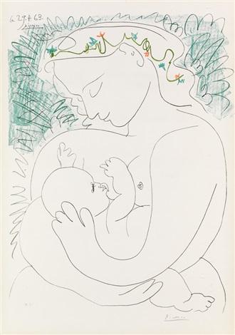 Grande Maternité by Pablo Picasso on artnet