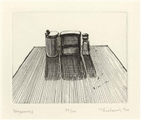 dispensers (from delights) by wayne thiebaud