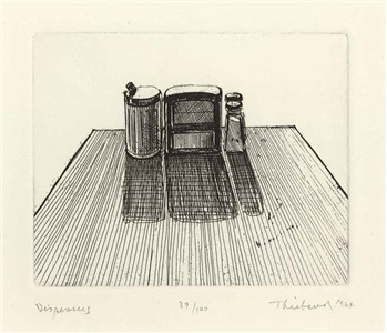 artwork by wayne thiebaud