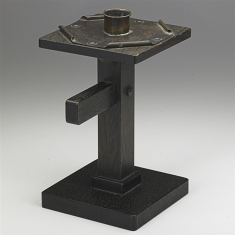 candlestick by charles rohlfs