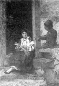 the itinerant vendor by kazimierz alchimowicz