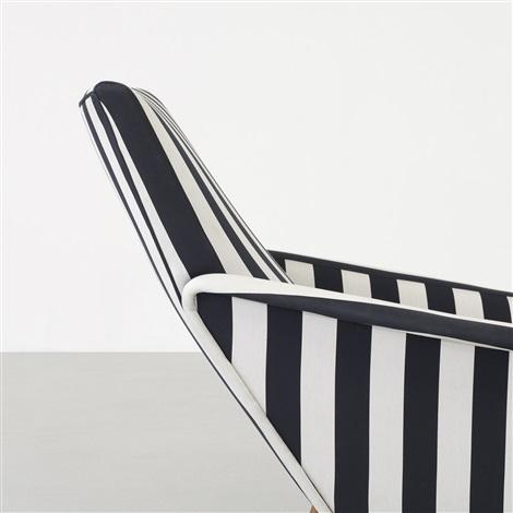 distex lounge chair model 807 by gio ponti