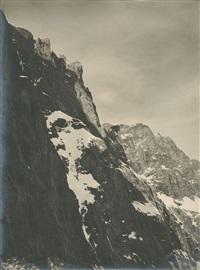 flanc de montagne by vittorio sella