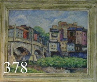 new bridge - along the chemung river by joseph b. grossman