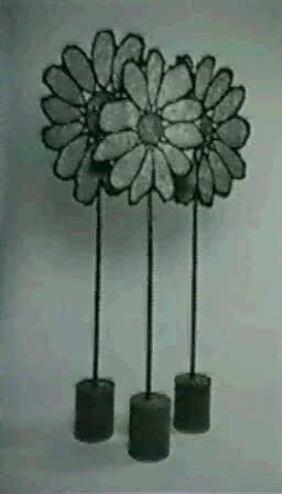 three flowers by steve vasey