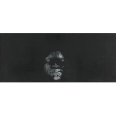 untitled bodyprint by david hammons