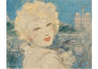 notre-dame by louis icart