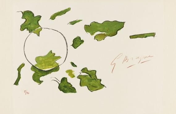 lettera amorosa (portfolio of 22) by georges braque