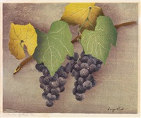 the bunches of grapes by luigi rist