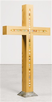 the crucifix by damien hirst