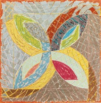 polar coordinates iii (from polar co-ordinates for ronnie petersen) by frank stella