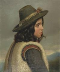 römischer hirtenjunge by emil teschendorff