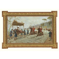 the road to pompei by ettore forti