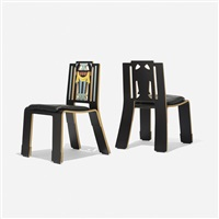 sheridan chairs (pair) by robert venturi