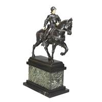 equestrian figural group of bartolomeo colleoni by andrea del verrocchio