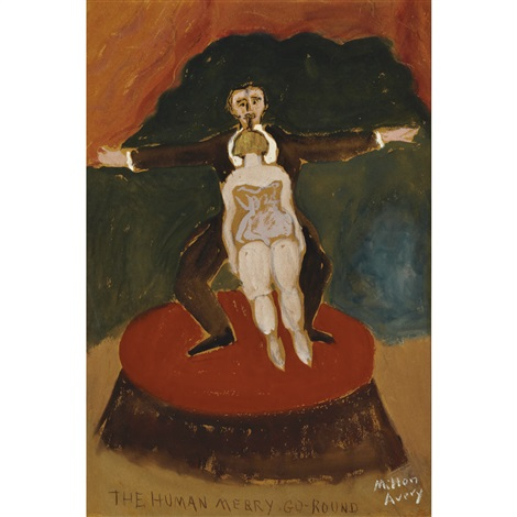the human merry go round by milton avery