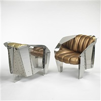 the chicago chairs (pair) by ron krueck