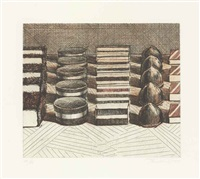 chocolates by wayne thiebaud