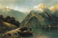 lac de montagne by h. wolff