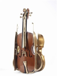 violoncello by arman