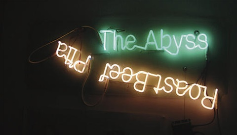 the abyss roastbeef pita by jason rhoades